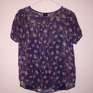 Ella Moss Floral Layered Top